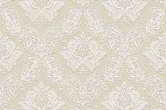 BL1001-2 cikkszámú tapéta.Barokk-klasszikus,különleges felületű,bézs-drapp,gyöngyház,lemosható,vlies tapéta