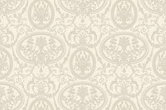 BL1003-2 cikkszámú tapéta.Barokk-klasszikus,különleges felületű,bézs-drapp,gyöngyház,lemosható,vlies tapéta