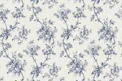 BL1005-4 cikkszámú tapéta.Barokk-klasszikus,különleges felületű,virágmintás,kék,szürke,lemosható,vlies tapéta