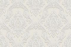 BL1009-1 cikkszámú tapéta.Barokk-klasszikus,különleges felületű,bézs-drapp,szürke,lemosható,vlies tapéta