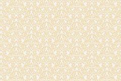 BL1010-2 cikkszámú tapéta.Barokk-klasszikus,különleges felületű,arany,fehér,lemosható,vlies tapéta