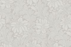 5351 cikkszámú tapéta.Barokk-klasszikus,virágmintás,szürke,lemosható,vlies tapéta