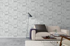 5384 cikkszámú tapéta.Absztrakt,geometriai mintás,textilmintás,fehér,szürke,lemosható,vlies tapéta