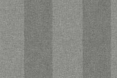 5388 cikkszámú tapéta.Csíkos,textilmintás,szürke,lemosható,illesztés mentes,vlies tapéta