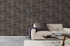 6686 cikkszámú tapéta.Kőhatású-kőmintás,barna,fekete,szürke,lemosható,vlies tapéta