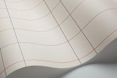 1807 cikkszámú tapéta.Kockás,retro,geometriai mintás,absztrakt,rajzolt,fehér,szürke,bézs-drapp,sárga,lemosható,vlies tapéta