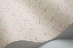 1813 cikkszámú tapéta.Kockás,geometriai mintás,absztrakt,különleges motívumos,piros-bordó,pink-rózsaszín,lemosható,vlies tapéta