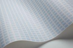 1825 cikkszámú tapéta.Kockás,geometriai mintás,absztrakt,kék,lemosható,vlies tapéta