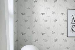 9303 cikkszámú tapéta.Különleges felületű,természeti mintás,fehér,szürke,lemosható,vlies tapéta