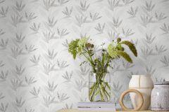 9308 cikkszámú tapéta.Különleges felületű,természeti mintás,fehér,szürke,lemosható,vlies tapéta