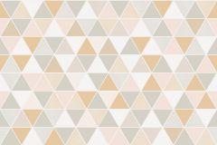 8810 cikkszámú tapéta.Absztrakt,geometriai mintás,ezüst,fehér,pink-rózsaszín,szürke,lemosható,vlies tapéta