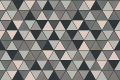 8811 cikkszámú tapéta.Absztrakt,geometriai mintás,bronz,kék,zöld,lemosható,vlies tapéta