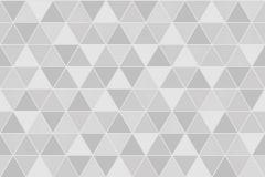 8812 cikkszámú tapéta.Absztrakt,geometriai mintás,fehér,szürke,lemosható,vlies tapéta