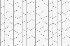 8821 cikkszámú tapéta.Absztrakt,különleges motívumos,fehér,fekete,lemosható,vlies tapéta