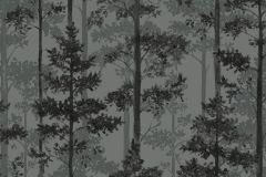 8826 cikkszámú tapéta.Fa hatású-fa mintás,különleges motívumos,természeti mintás,szürke,zöld,lemosható,vlies tapéta
