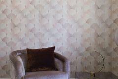 6366 cikkszámú tapéta.Geometriai mintás,különleges motívumos,bézs-drapp,pink-rózsaszín,lemosható,vlies tapéta