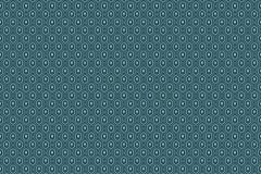 6377 cikkszámú tapéta.Geometriai mintás,pöttyös,fekete,kék,türkiz,lemosható,vlies tapéta