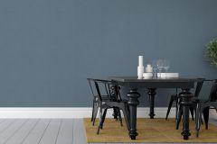 4668 cikkszámú tapéta.Egyszínű,különleges felületű,kék,gyengén mosható,illesztés mentes,vlies tapéta
