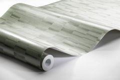 4562 cikkszámú tapéta.Absztrakt,különleges felületű,metál-fényes,vajszín,zöld,lemosható,vlies tapéta