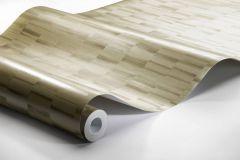 4566 cikkszámú tapéta.Absztrakt,különleges felületű,metál-fényes,barna,sárga,lemosható,vlies tapéta