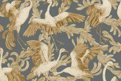 4581 cikkszámú tapéta.állatok,különleges felületű,természeti mintás,barna,sárga,szürke,lemosható,vlies tapéta