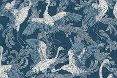 4583 cikkszámú tapéta.állatok,különleges felületű,természeti mintás,fehér,kék,lemosható,vlies tapéta