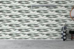 5251 cikkszámú tapéta.Geometriai mintás,rajzolt,természeti mintás,fehér,szürke,lemosható,vlies tapéta