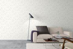 5255 cikkszámú tapéta.Természeti mintás,bézs-drapp,fehér,szürke,lemosható,vlies tapéta