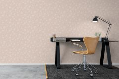 3659 cikkszámú tapéta.Természeti mintás,fehér,narancs-terrakotta,lemosható,vlies tapéta