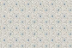 3673 cikkszámú tapéta.Geometriai mintás,különleges motívumos,bézs-drapp,kék,lemosható,vlies tapéta