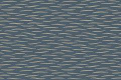 3676 cikkszámú tapéta.Csíkos,geometriai mintás,különleges motívumos,barna,fekete,kék,zöld,lemosható,vlies tapéta