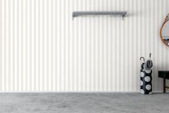 7170 cikkszámú tapéta.Csíkos,különleges felületű,fehér,szürke,lemosható,illesztés mentes,vlies tapéta