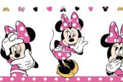 MN3502-2 cikkszámú tapéta.Emberek-sztárok,gyerek,rajzolt,sárga,fehér,fekete,pink-rózsaszín,papír bordűr