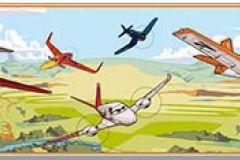 PL3504-1 cikkszámú tapéta.Emberek-sztárok,gyerek,rajzolt,barna,bézs-drapp,fehér,fekete,kék,narancs-terrakotta,piros-bordó,sárga,zöld,papír bordűr