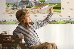 PL3905 cikkszámú tapéta.Emberek-sztárok,gyerek,rajzolt,fehér,fekete,kék,lila,narancs-terrakotta,sárga,szürke,zöld,gyengén mosható,papír panel, fotótapéta