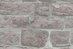 5818-10 cikkszámú tapéta.Konyha-fürdőszobai,kőhatású-kőmintás,különleges felületű,barna,szürke,lemosható,vlies tapéta