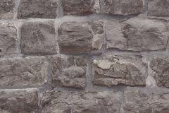 5818-15 cikkszámú tapéta.Konyha-fürdőszobai,kőhatású-kőmintás,különleges felületű,barna,szürke,lemosható,vlies tapéta