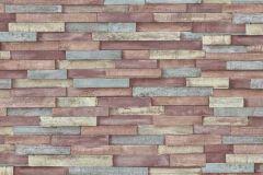 6301-07 cikkszámú tapéta.Kőhatású-kőmintás,különleges felületű,piros-bordó,sárga,szürke,lemosható,vlies tapéta