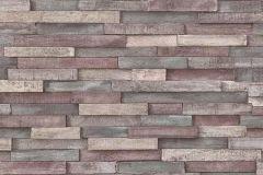 6301-10 cikkszámú tapéta.Kőhatású-kőmintás,különleges felületű,barna,narancs-terrakotta,piros-bordó,lemosható,vlies tapéta