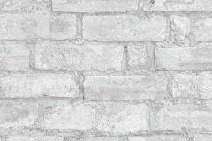 6318-10 cikkszámú tapéta.Kőhatású-kőmintás,különleges felületű,szürke,lemosható,vlies tapéta