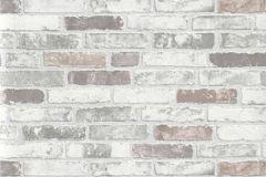 6703-10 cikkszámú tapéta.Kőhatású-kőmintás,különleges felületű,fehér,piros-bordó,sárga,szürke,lemosható,vlies tapéta