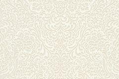 5413-02 cikkszámú tapéta.Barokk-klasszikus,különleges felületű,bézs-drapp,gyöngyház,lemosható,vlies tapéta