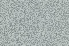 5413-19 cikkszámú tapéta.Barokk-klasszikus,különleges felületű,zöld,lemosható,vlies tapéta