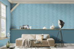 5416-08 cikkszámú tapéta.Absztrakt,különleges felületű,kék,lemosható,vlies tapéta