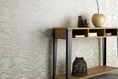 5953-10 cikkszámú tapéta.Különleges felületű,természeti mintás,ezüst,fehér,szürke,lemosható,vlies tapéta