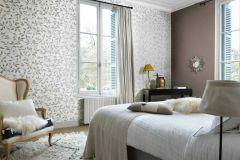 6333-10 cikkszámú tapéta.Különleges felületű,természeti mintás,lila,szürke,lemosható,vlies tapéta