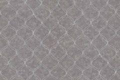6334-10 cikkszámú tapéta.Különleges felületű,marokkói ,barna,szürke,lemosható,vlies tapéta
