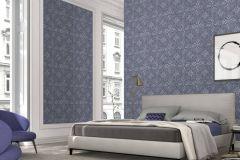 6337-08 cikkszámú tapéta.Absztrakt,különleges felületű,kék,szürke,lemosható,vlies tapéta