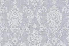 6436-10 cikkszámú tapéta.Barokk-klasszikus,különleges felületű,szürke,lemosható,vlies tapéta