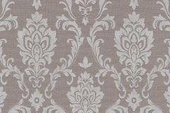 6436-37 cikkszámú tapéta.Barokk-klasszikus,különleges felületű,barna,szürke,lemosható,vlies tapéta
